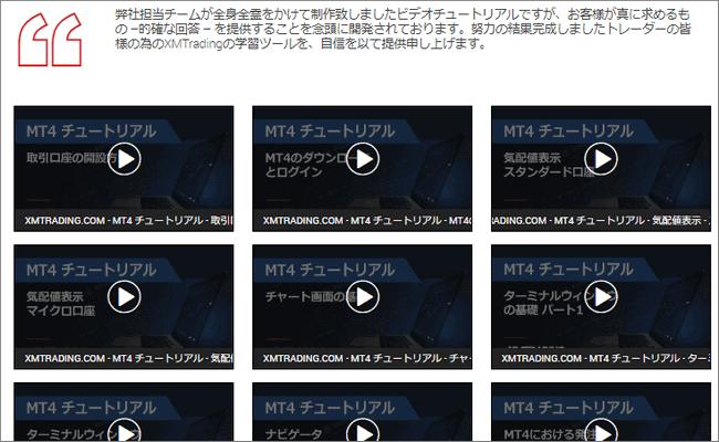 MT4使い方動画の一覧