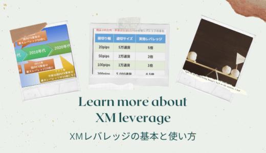 XMレバレッジ管理で損失を固定!規制や変更・計算方法も完全網羅