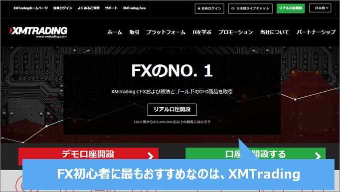 PC版XMTrading公式サイト