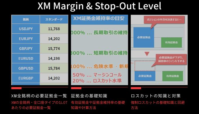 XM証拠金維持率の計算方法と強制ロスカット